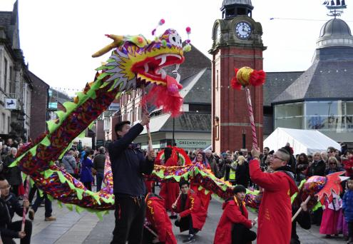 CITCM's Dragon Dance in Bangor