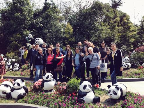 Head Teachers at Panda Sanctuary, Chengdu