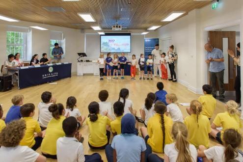 Confucius Cup Competition at Caxton House