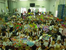 Chinese dragon painting contest