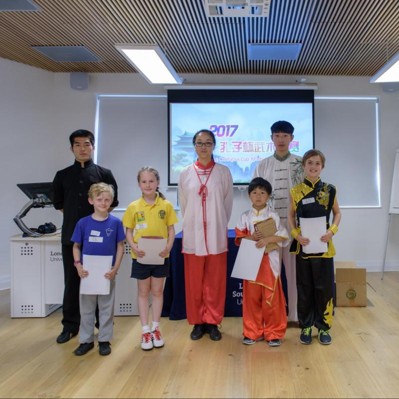 Confucius Cup Competition held at Caxton House