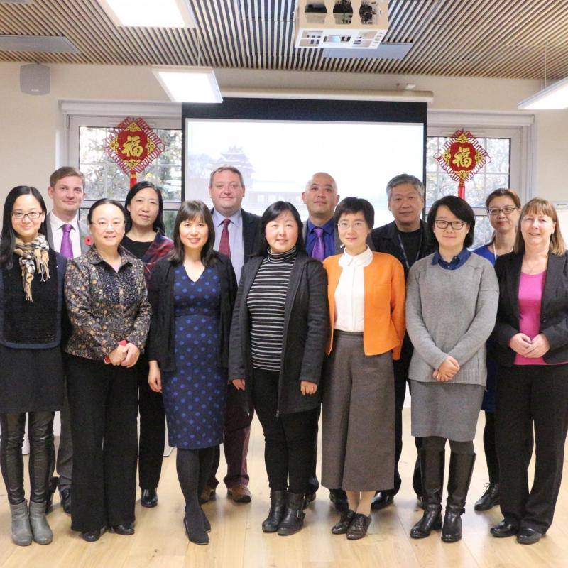 Directors exchange ideas at Confucius Institute Round Table Discussion