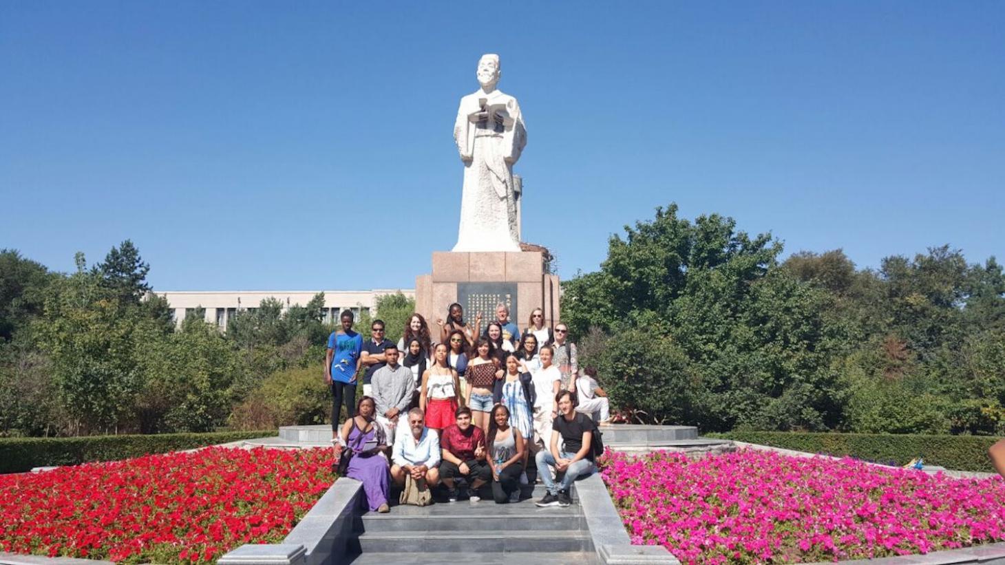 Scholarship Students at HUCM
