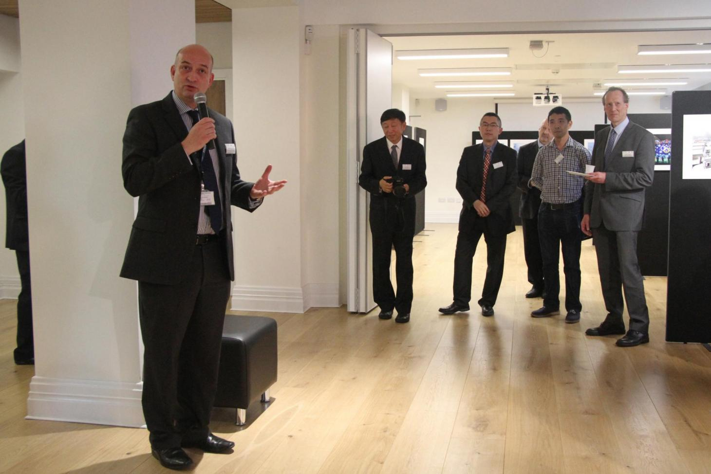 speech at event