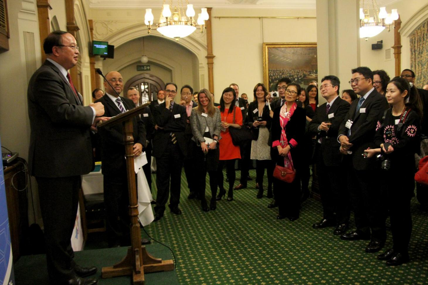 China-Britain Cultural and Business Spring Festival Function 1