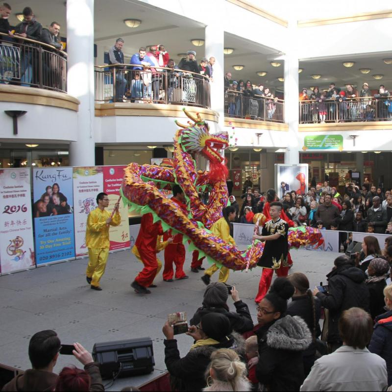 CITCM celebrates Chinese New Year at Whitgift Shopping Centre, Croydon
