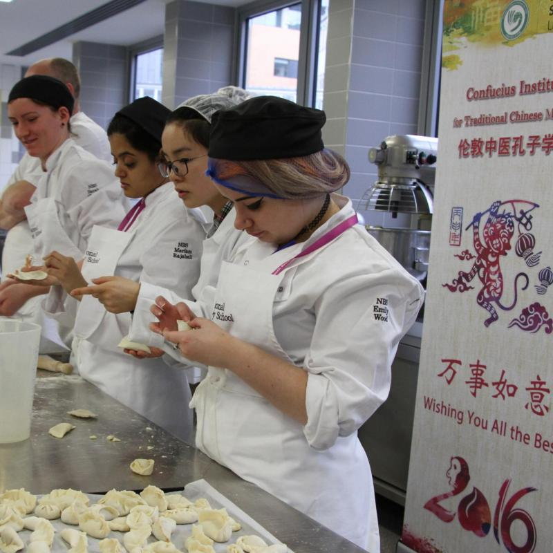 Chinese Dumpling Workshop at National Bakery School