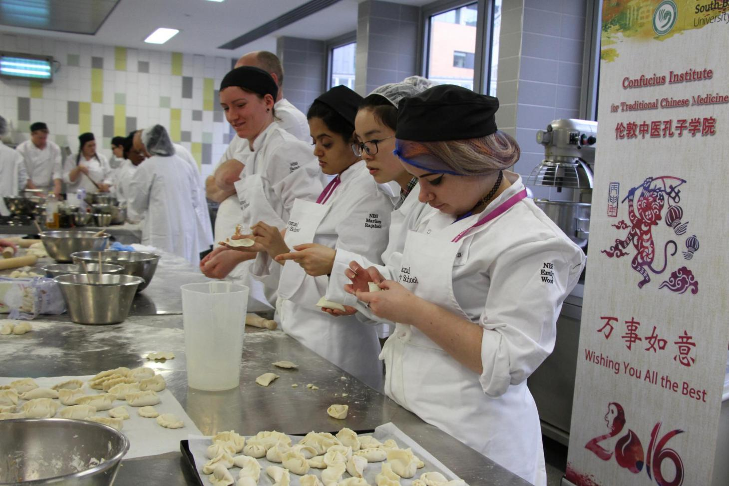 Dumpling Workshop at National Bakery School