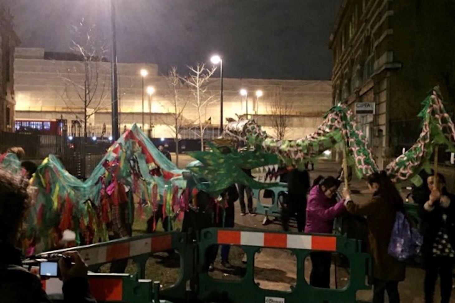 Happy Dragon Dance at Southwark