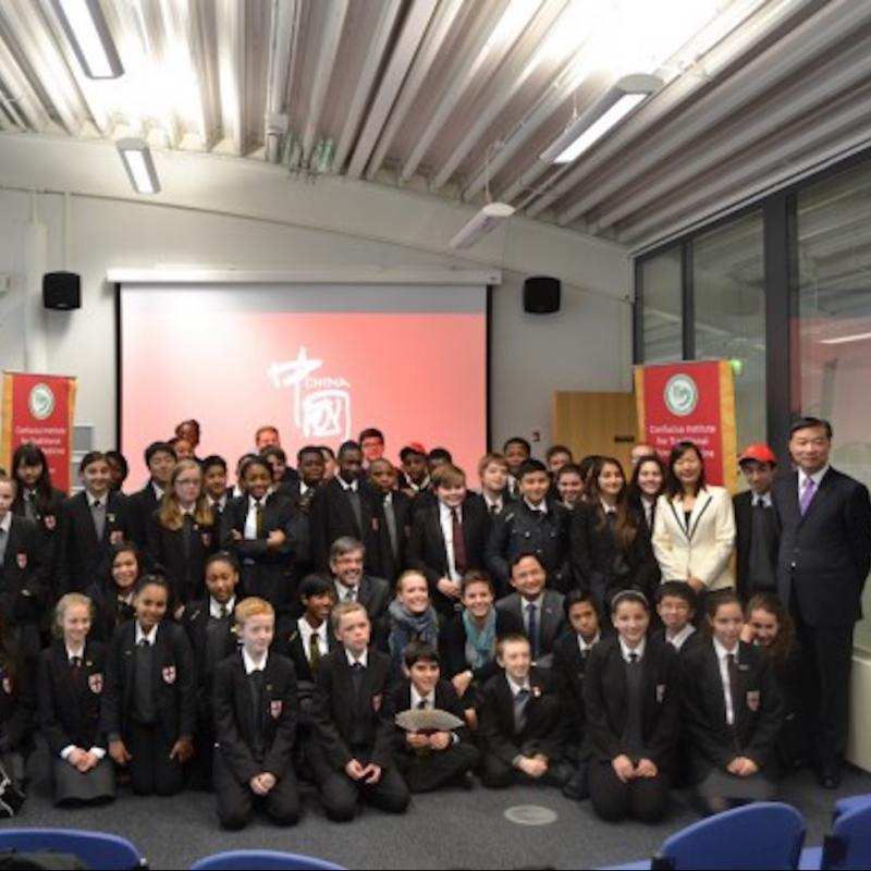 St George School students enjoy experiencing Chinese culture at LSBU