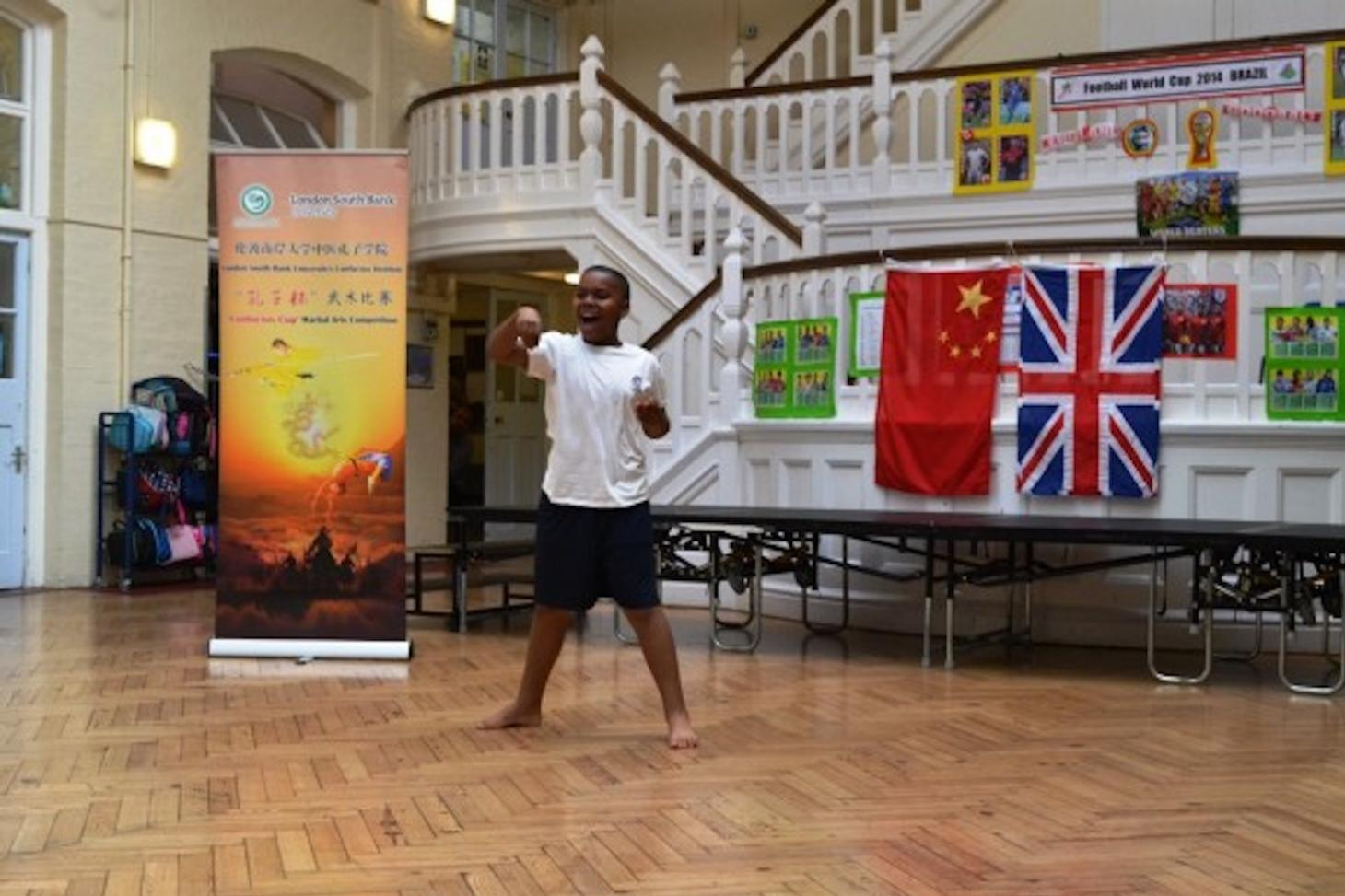Fircroft Primary School boy's performance in martial arts competition