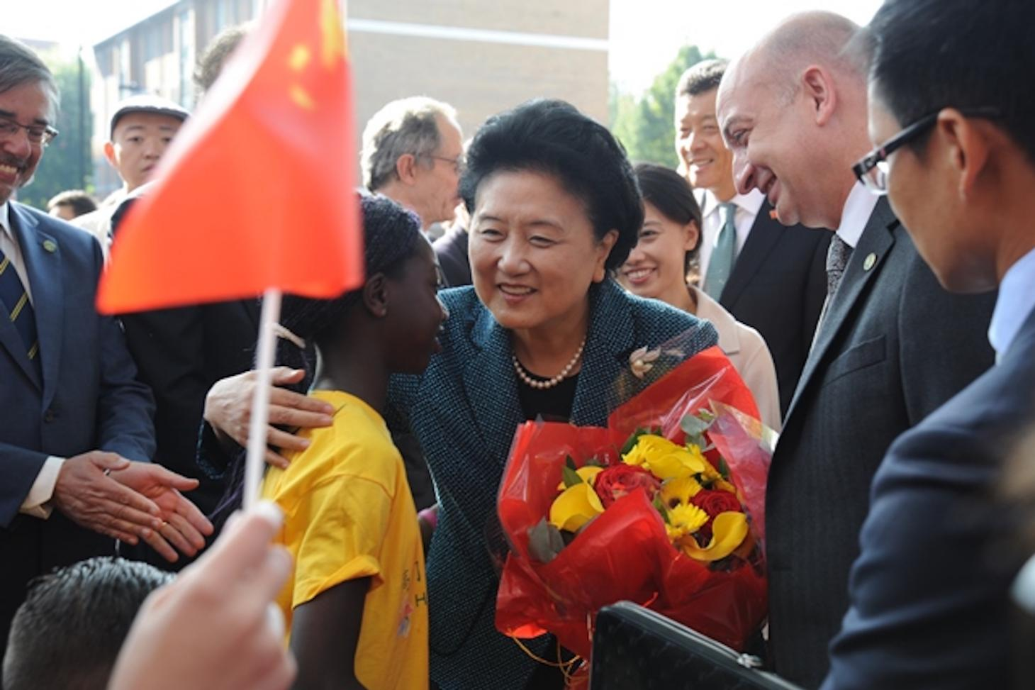 Chinese Vice-Premier Madame Liu Yandong visits LSBU