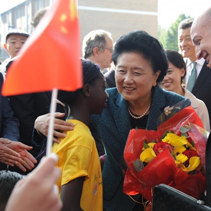 LSBU Welcomes Chinese Vice-Premier
