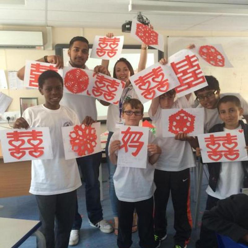 Ernest Bevin College takes part in Chinese culture workshops