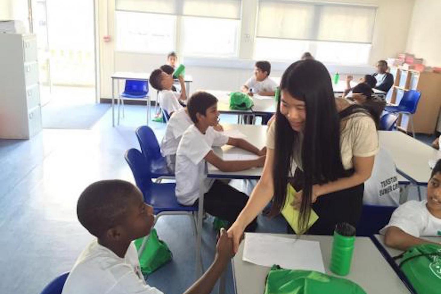 A Mandarin class at Ernest Bevin academy