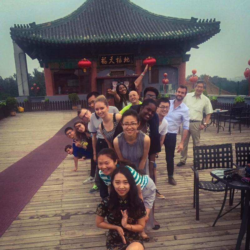East London students spend a summer in China