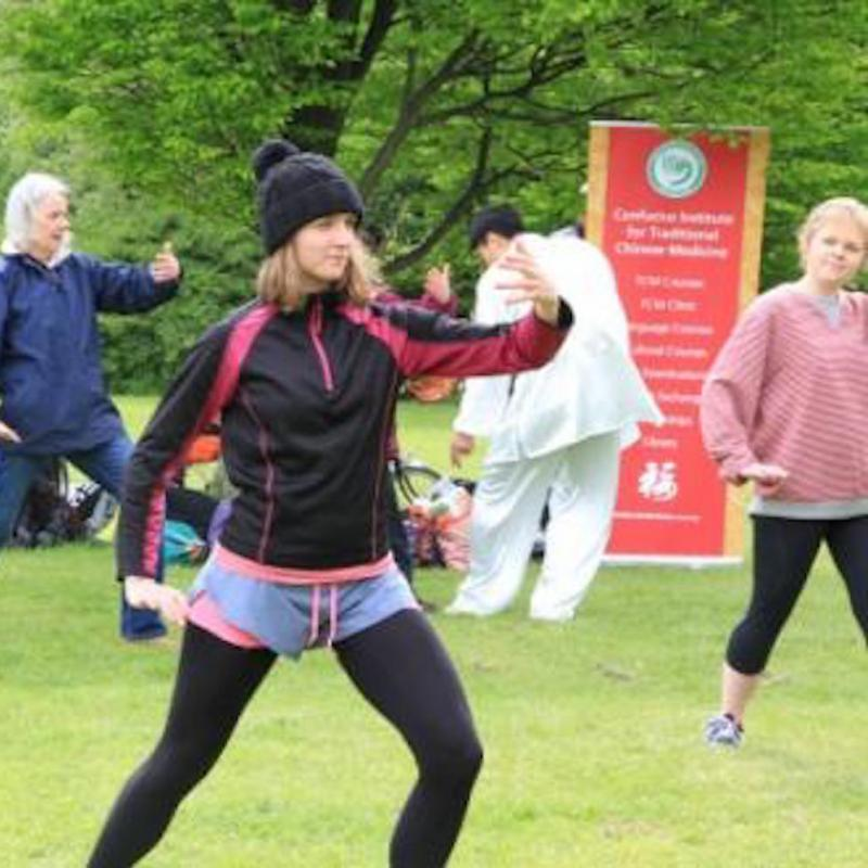 CITCM's Taiji Month at Regent's Park in London