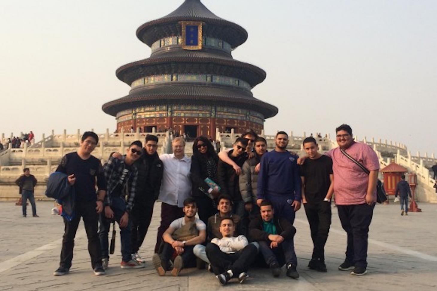 Visiting the Temple of Heaven
