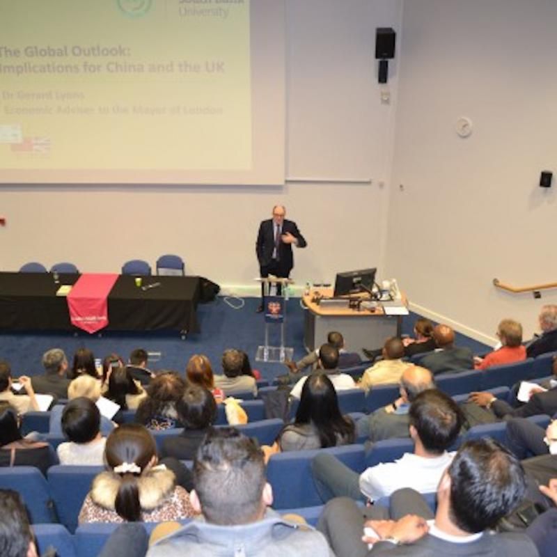 Mayor of London's top economist comes to LSBU to  outline future for China and the UK