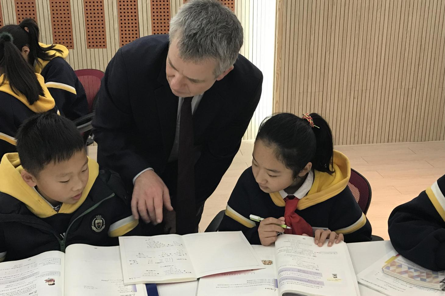 Headteachers Visiting Shanghai Shengde School