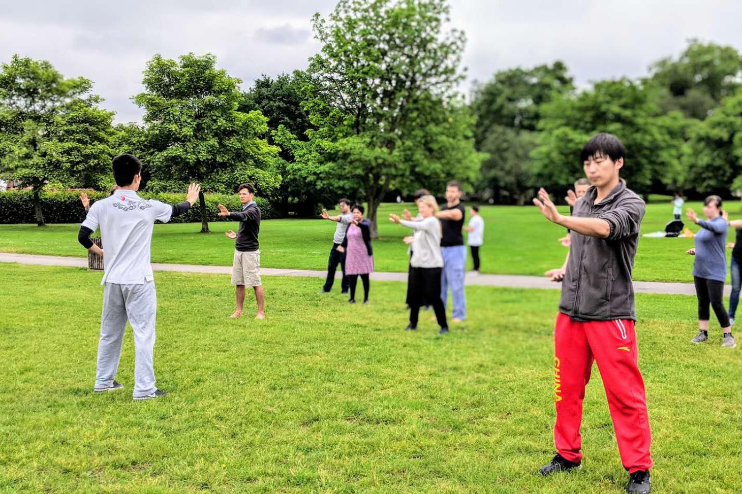Tai Chi in Regent's Park