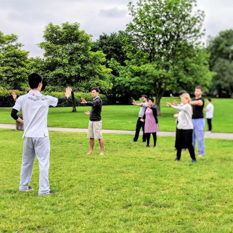 CITCM's Annual 'Tai Chi in Regent's Park' was a Huge Success