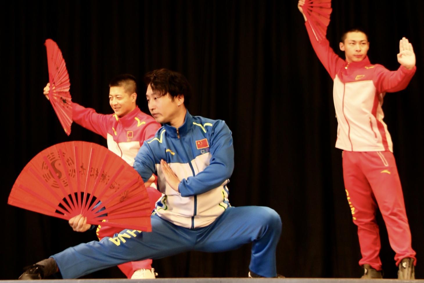 The very popular Kung Fu Fan